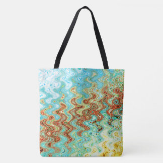 Bluebell & Yarrow Tote Bag by Artist C.L. Brown