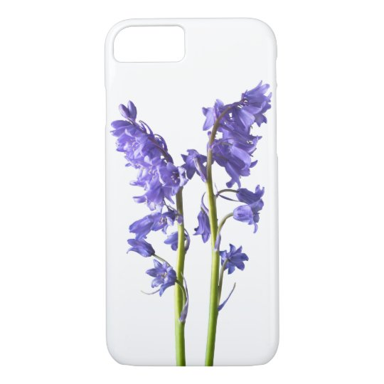 Bluebells, From the very Woods I Created! iPhone 7 Case