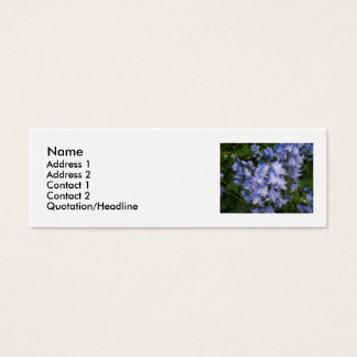 Bluebells Mini Business Card