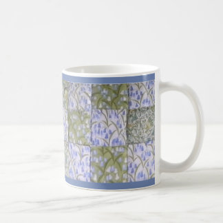 Bluebells Patchwork Coffee Mug