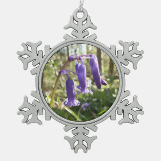 Bluebells Snowflake Ornament