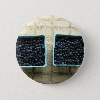 Blueberries 2 Inch Round Button