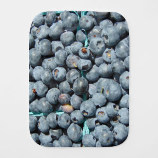 Blueberries Burp Cloth