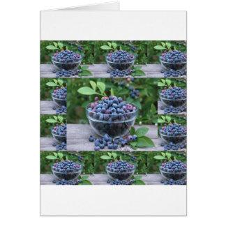 Blueberries Chefs healthy cuisine Breakfast Salads Card