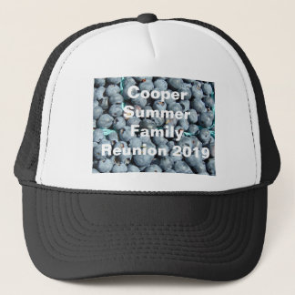 Blueberries Customizable Clothing Trucker Hat