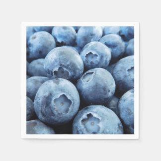 Blueberries Disposable Napkins