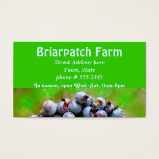 Blueberries Farm Business Card