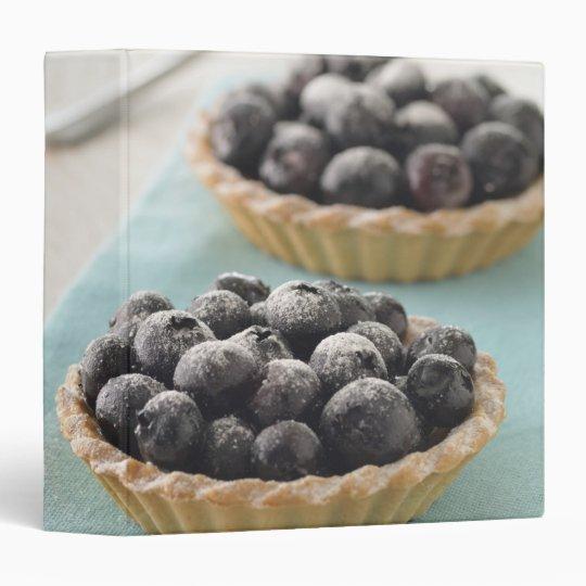 blueberries little tart vinyl binder