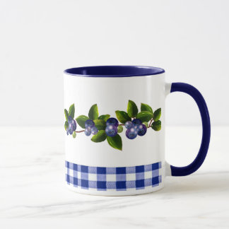 Blueberries Mug