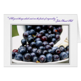 Blueberries of Summer Card