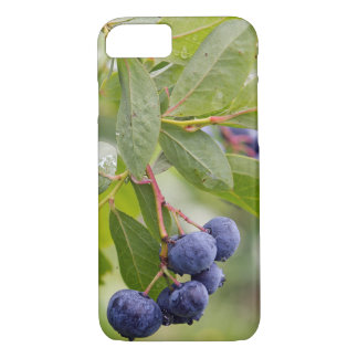 blueberries on bush iPhone 8/7 case