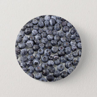 Blueberries on Glass 2 Inch Round Button