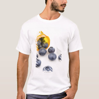 Blueberries spilling from prescription bottle T-Shirt
