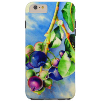 Blueberries Tough iPhone 6 Plus Case