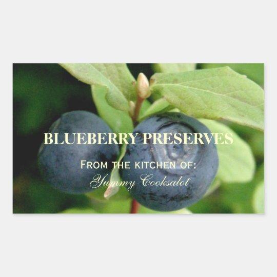 Blueberries, Vaccinium ovalifolium Sticker