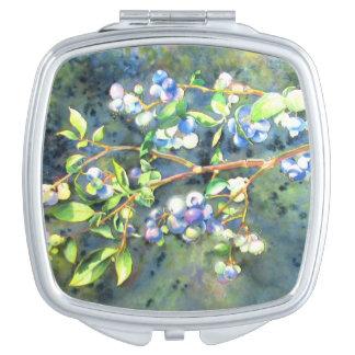 Blueberries Vanity Mirror