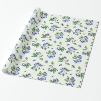 Blueberries Wrapping Paper