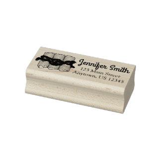 Blueberry Cheese Blintz Blintzes Foodie Address Rubber Stamp