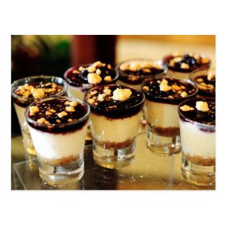 Blueberry Cheesecake Shots Postcard
