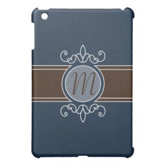 Blueberry Classic Harvest Monogram  Case For The iPad Mini
