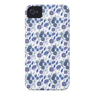 blueberry crush Case-Mate iPhone 4 case