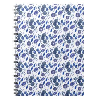 blueberry crush notebook