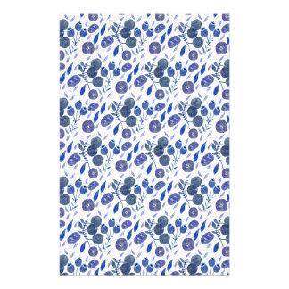 blueberry crush stationery