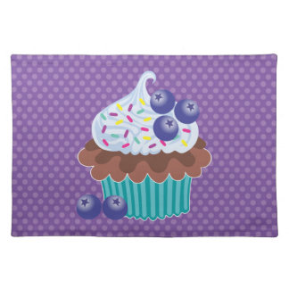 Blueberry Cupcake Placemat