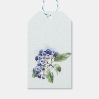 Blueberry Gift Tags