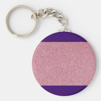 Blueberry Juice Bubbles Basic Round Button Keychain