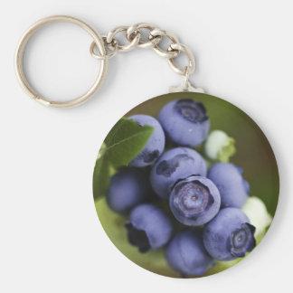 blueberry lover keychain
