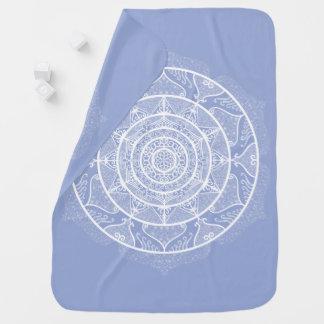 Blueberry Mandala Baby Blanket