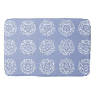 Blueberry Mandala Bath Mat