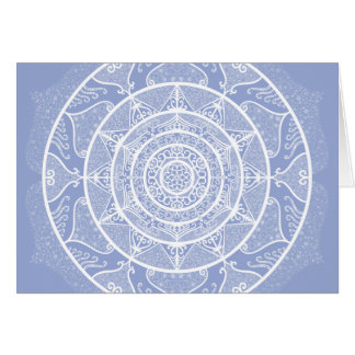 Blueberry Mandala Card