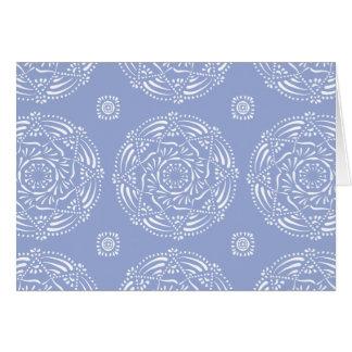 Blueberry Mandala Card