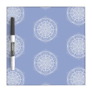 Blueberry Mandala Dry Erase Board