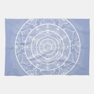 Blueberry Mandala Kitchen Towel