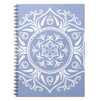 Blueberry Mandala Notebooks