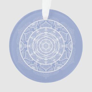 Blueberry Mandala Ornament