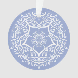 Blueberry Mandala Ornament