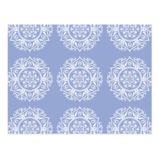 Blueberry Mandala Postcard