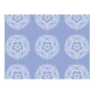 Blueberry Mandala Postcard