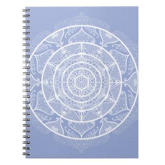 Blueberry Mandala Spiral Notebook