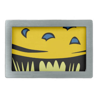 Blueberry Muffin Cartoon Rectangular Belt Buckle