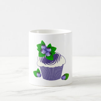 Blueberry Muffin Purple Coffee Mug