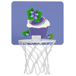 Blueberry Muffin Purple Mini Basketball Hoop
