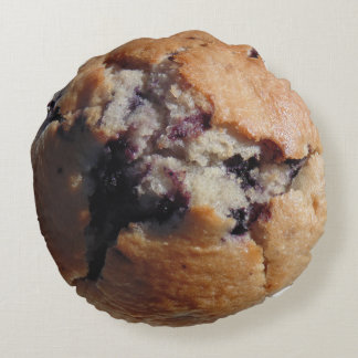 Blueberry muffin top pillow