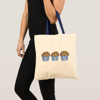 Blueberry Muffins Blue Breakfast Food Bakery Tote Bag