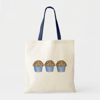 Blueberry Muffins Blue Breakfast Muffin Baking Bag