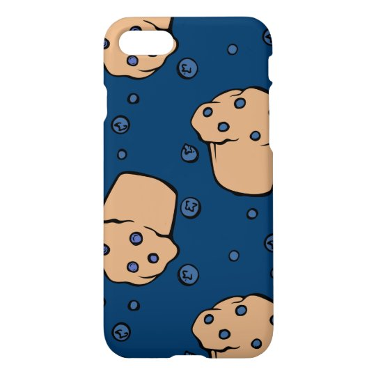 Blueberry muffins iPhone 7 case